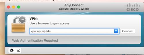 VPN Remote Access - William Paterson University